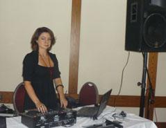 DJ Natasha Koroleva. Bat Mitzvahs, Nov 27 2011, Charthouse Restaurant, Weehawken, New Jersey, USA