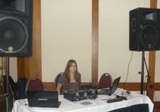 DJ Alisa. Bat Mitzvah, Nov 27 2011, Charthouse Restaurant, Weehawken, New Jersey, USA