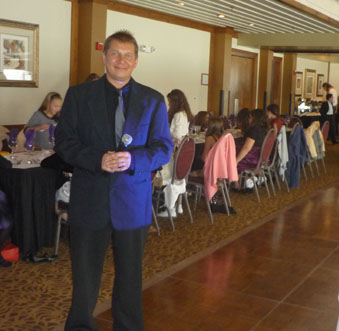 MC Misha. Bat Mitzvah, Nov 27 2011, Charthouse Restaurant, Weehawken, New Jersey, USA