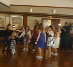 Bat Mitzvah party, November 27, 2011, Charthouse Restaurant, Weehawken, New Jersey, USA
